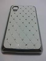 Чехол Diamond  для LG Optimus L4 II E440 белый