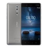 Nokia 8 Dual SIM Серебристый (цвет)