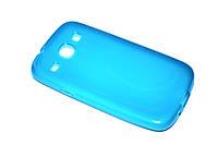 Глянцевый TPU чехол для Samsung Galaxy Core I8262 / I8260 голубой