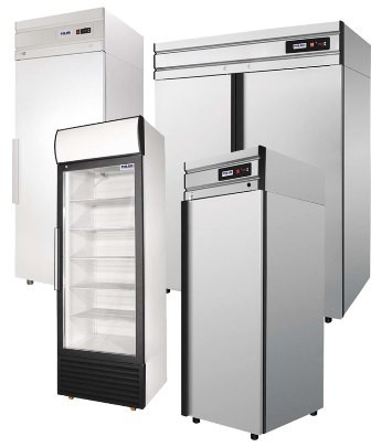 Среднетемпературные холодильные шкафы POLAIR