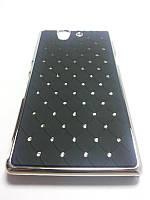 Чехол накладка Sony Xperia Z C6603 L36H черный