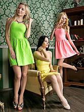 Платье  короткое топ корсет