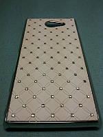 Чехол Diamond  для Sony Xperia M2 D2302 D2305 белый