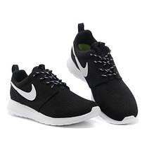 467e7958 Женские кроссовки Nike Flyknit Roshe Run черно-белые: продажа, цена ...