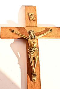 Настенный крест! 40 х 28 см.
