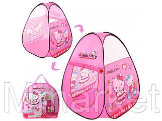 Палатка Hello Kitty М 3735 пирамида (95*95*112 см)