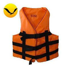 Жилет страховочный оранжевый Bark 90-110кг. Оксфорд;