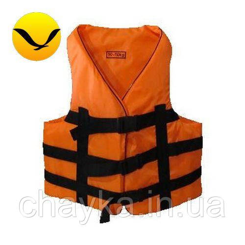 Жилет страховочный оранжевый Bark 110-130кг. Оксфорд;
