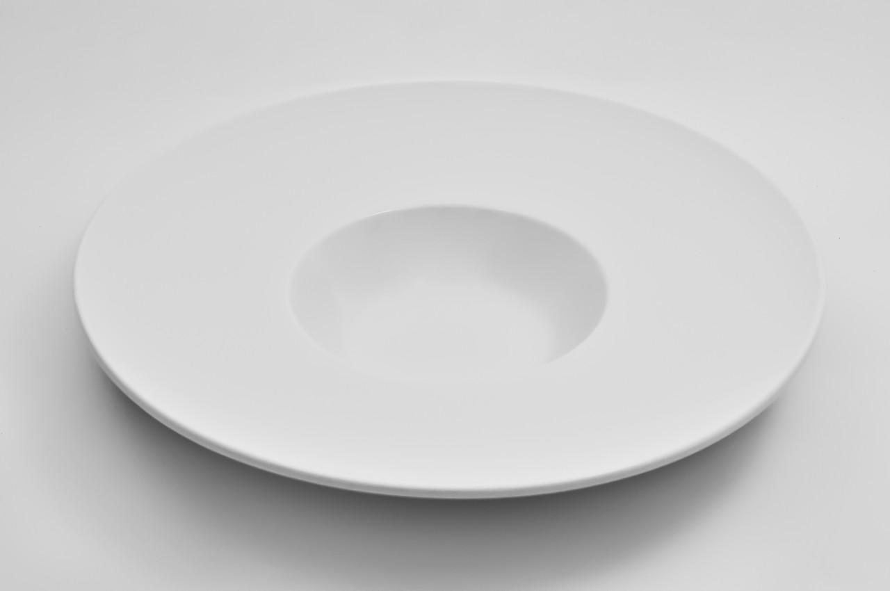 Тарелка для пасты, морепродуктов 200мл, фарфоровая