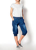 Женские джинсовые бермуды