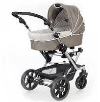 Универсальная детская коляска 2 в 1 MISTRAL S V3 (кожа) Teutonia, фото 2