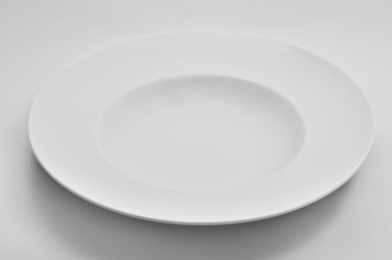 Тарелка фарфоровая глубокая 500 мл.