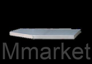 Столешница из нержавеющей стали для тумбы Габариты 1360 x 465 x 38мм