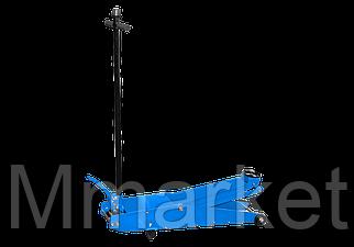 Домкрат гидравлический подкатной длинный 10 тонн   (Высота :130-600 MM)