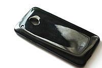 Глянцевый TPU чехол для HTC One Mini M4 чёрный