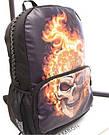 Рюкзак с огненным черепом!, фото 2