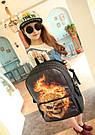 Рюкзак с огненным черепом!, фото 3