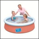 Детский надувной  бассейн, размер 152х38 см, фото 1