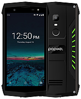 "Poptel P8 green IP68 2/16 Gb, 5"", MT6739, 3G, 4G"