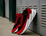 Мужские кроссовки Adidas Shark Red/Black/White. Живое фото. Реплика, фото 3
