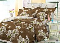 Набор постельного белья полуторный из поплина