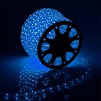 Гирлянда светодиодный шланг Дюралайт» трехжильный синий 50 м