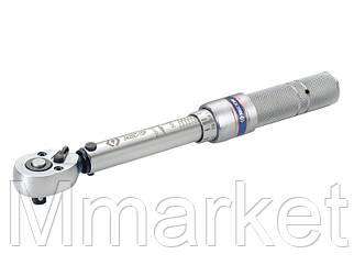 "Ключ динамометрический 1/4"" тип мини, 5~25NM двойная установка (по и против часовой)"
