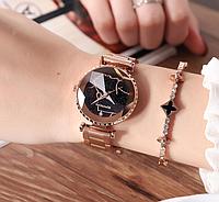 Женские наручные часы 2018 Sanda 238 Rose Gold