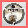 Пильный диск. 125х22х3. EXPERT. трех зубый для УШМ. Диск пильный на болгарку. Дисковая пила. - Фото
