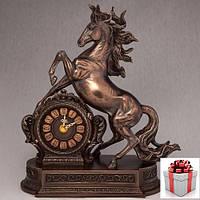 """Годинник """"кінь Здибився"""" (28*32 см)"""
