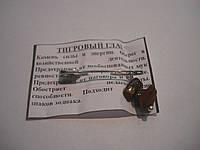Булавка оберег с камнем Тигровый глаз, фото 1
