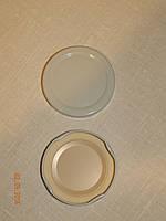 Крышка закаточная твист-офф размер 63 мм белая