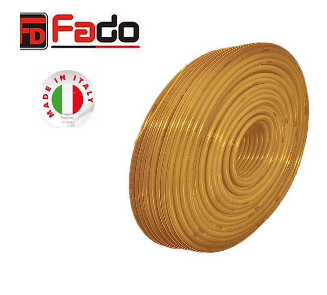 FADO Труба PEX-A с кислородным барьером 16x2.0 120 м.Труба для теплого пола.
