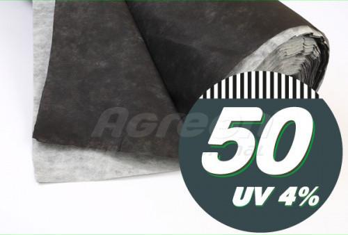 Черно-белое агроволокно «Agreen» (1.6х50 м рулон) для мульчирования, оригинал