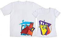 Парные футболки Коты гангстеры