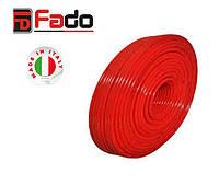 FADO Труба PEX-B 16x2.0 (красная) без кислородного слоя.Труба для теплого пола.