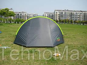 Палатка четырехместная 1009 GreenCamp, фото 2
