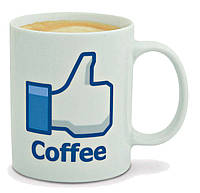 Чашка Facebook, фото 1