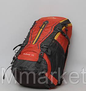 Туристичний дорожній рюкзак з металевим каркасом / Туристический дорожный рюкзак с металлическим к