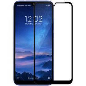 Защитное стекло 2.5D на весь экран (с клеем по всей поверхности) для Xiaomi Redmi 7 цвет Черный
