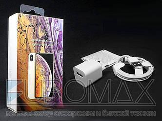 Зарядное устройство 220В USB с кабелем USB - Lightning ART-063