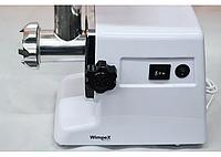 Электрическая мясорубка Wimpex WX-3074, Мясорубка с насадками, Meat Grinder, Электромясорубка 2000Вт