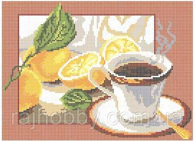 Княгиня Ольга Схема для вышивки бисером Чай с лимоном СКМ-41