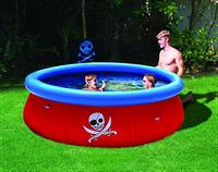 Дитячий надувний басейн, розмір 274х76 см