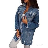 Куртка женская джинсовая V-6081
