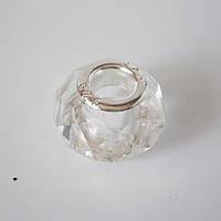 Бусина Pandora (Пандора) в белом цвете P4260843