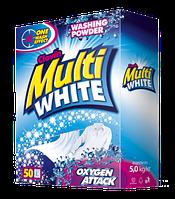 MULTIWHITE Oxigen Attack порошок для стирки белых вещей 5 кг