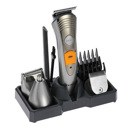 Профессиональная машинка для стрижки волос Kemei KM-580A 7в1, фото 2