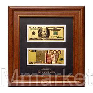 Панно подарочное 600050 ''USA + Euro''