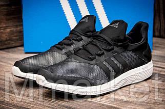 Кроссовки мужские  Adidas Bounce, черные (2545-2),  [  42 (последняя пара)  ]